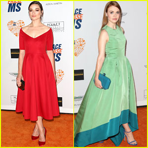 Crystal Reed & Holland Roden Come Together Again for 'Race to Erase MS'!