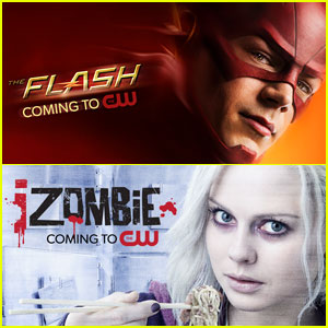 The CW Releases New Art for 'The Flash,' 'iZombie' & All New Series!