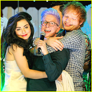 Ed Sheeran & Charli XCX: 'The Fault in Our Stars' Live Event Performances - Watch Now!