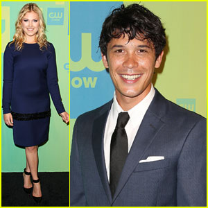 Eliza Taylor & Bob Morley Stop by the CW Upfronts & Dish on 'The 100' Finale!