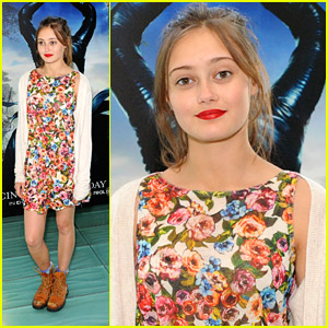 Teenage 'Maleficent' Ella Purnell Attends Film's London Screening