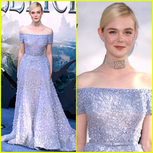 Elle Fanning Looks Like a Dream at 'Maleficent' Hollywood Premiere!