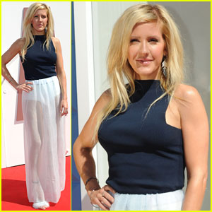 Ellie Goulding Helps Launch British Designers Collective After Dougie Poynter PDA!