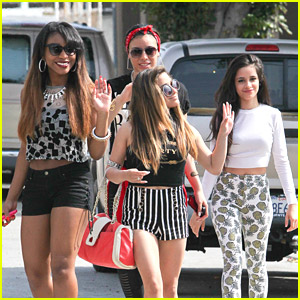 Fifth Harmony Hit Up Recording Studio in Hollywood