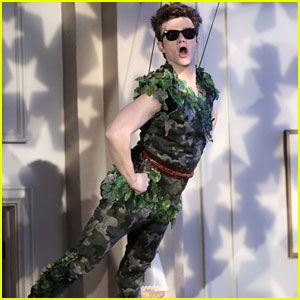 Kurt Becomes Peter Pan on Tonight's 'Glee,' Written by Chris Colfer!