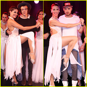 Harry Styles & Liam Payne Show Off Their Best Tango Moves - See the Pics!