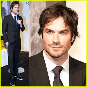 Ian Somerhalder Thinks Azzaro Pour Homme Will Help Him Get a Girl!