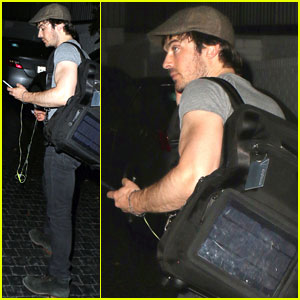 Ian Somerhalder: I'm Naked a Lot on 'The Vampire Diaries'
