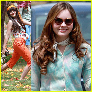 Isabelle Fuhrman & Liana Liberato Re-Shoot 'Dear Eleanor' in Colorado