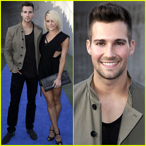 James Maslow & Peta Murgatroyd Strike a Pose at Wango Tango 2014!