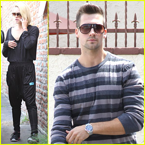 James Maslow Finishes Up Semi-Final DWTS Practice