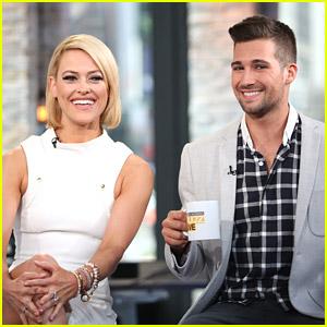 James Maslow & Peta Murgatroyd Stop By VH1's Morning Buzz - Watch Their Interviews!