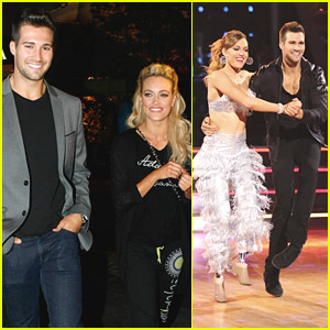 James Maslow & Peta Murgatroyd: Headed for Semi-Finals on 'DWTS'!
