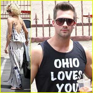 James Maslow & Peta Murgatroyd: Weekend Waltz Practice
