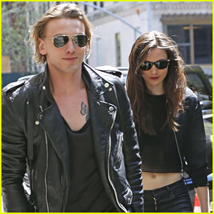 Jamie Campbell Bower & Matilda Lowther Hit The Big Apple