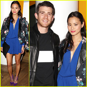Jamie Chung Supports Fiance Bryan Greenberg at 'A Short History Of Decay' Premiere