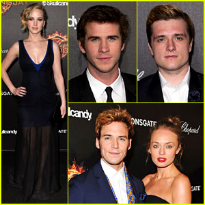 Jennifer Lawrence & Liam Hemsworth Are Picture Perfect at 'Mockingjay Part I' Cannes Party!