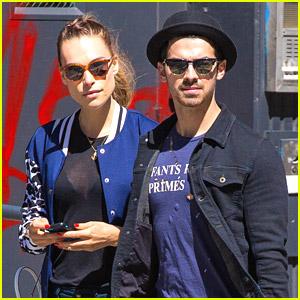 Joe Jonas & Blanda Eggenschwiler Visit Alena Rose After Shopping In New York City