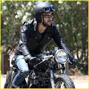 Joe Jonas Revs Up His Engine for a Motorcycle Ride in LA!