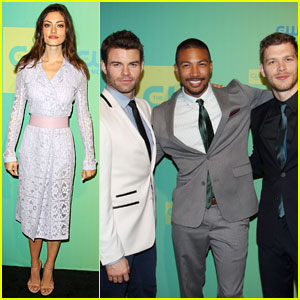 Joseph Morgan & Phoebe Tonkin Bring 'The Originals' to The CW Upfronts