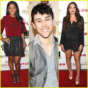 Keke Palmer & Max Schneider: Nylon Young Hollywood Party Pair
