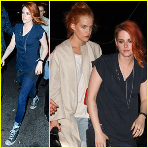 Kristen Stewart Trades in Gown for Jeans at Met Ball 2014 After-Parties
