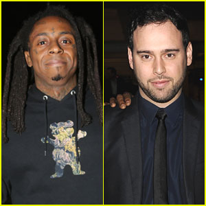 Justin Bieber's Manager Scooter Braun Gets Called Out by Lil Wayne in New Video!