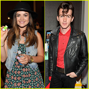 Lucy Hale & Drake Bell Stop by Radio Row Before the Billboard Music Awards!