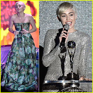 Miley Cyrus is a Shining Winner at World Music Awards 2014