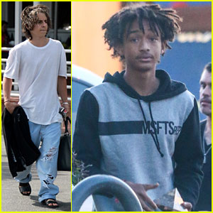 Moises Arias Rocks Ripped Jeans After Jada Pinkett Smith Defends Willow Photo Controversy