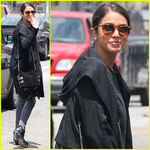 Nikki Reed Stays Stylish While Shopping with Mom Cheryl