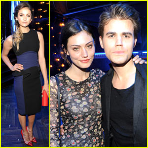 Nina Dobrev & Paul Wesley Hit CW Upfront After Party After Shocking Finale!