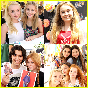 G Hannelius Hosts 'Art In The Afternoon' with Peyton List & More