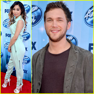 Phillip Phillips & Jessica Sanchez Hit the 'American Idol' Season 13 Finale!