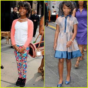 Quvenzhane Wallis Stops by 'GMA', Cracks Us Up in New 'Annie' Trailer - Watch Now!