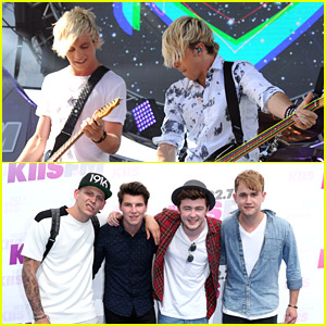 R5 & Rixton Play On at Wango Tango 2014