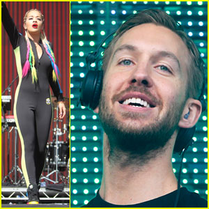 Rita Ora & Calvin Harris Bring Color to BBC Radio 1's Big Weekend Concert!