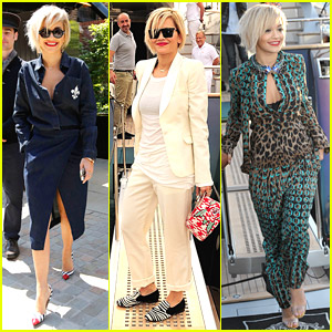 Rita Ora Rocks Four Outfits During Trip To Cannes 2014