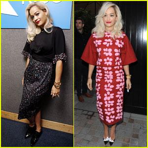 Rita Ora Celebrates No. 1 Single in the U.K.!