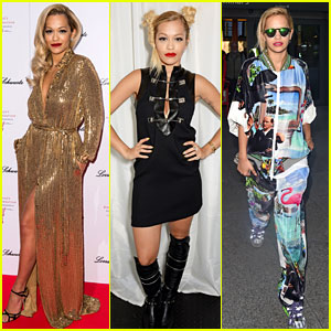 Rita Ora Wears Four Different Outfits in One Day!