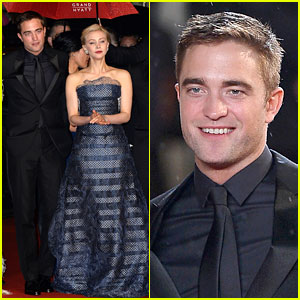Robert Pattinson Braves the Rain for 'Maps to the Stars' Premiere in Cannes!