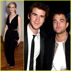 Robert Pattinson: 'Twilight' Meets 'Hunger Games' in Cannes!