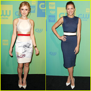 Rose McIver & Shantel VanSanten Introduce New Shows at The CW Upfronts 2014!