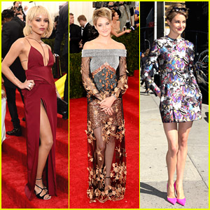Divergent's Shailene Woodley & Zoe Kravitz Reunite at MET Gala 2014