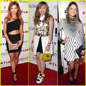 Stefanie Scott & Jennette McCurdy Celebrate Young Hollywood With Nylon