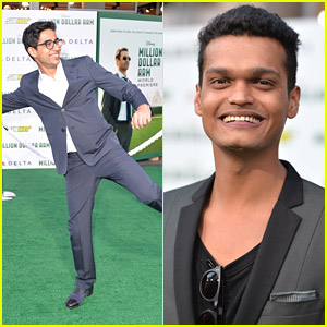 Suraj Sharma & Madhur Mittal: 'Million Dollar Arm' Premiere!