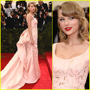 Taylor Swift Goes High Society at MET Gala 2014
