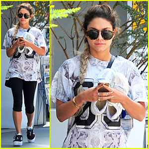 Vanessa Hudgens Becomes Inches Taller with Platform Shoes!
