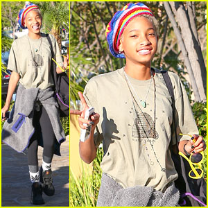 Willow Smith 'Celebrates Life' by Stopping at Her Favorite Sushi Spot!