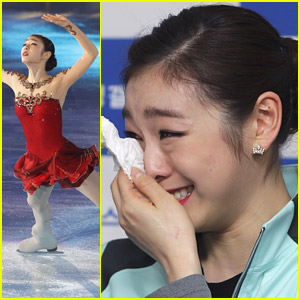 Yuna Kim Sheds Tears After Hanging Up Ice Skates
